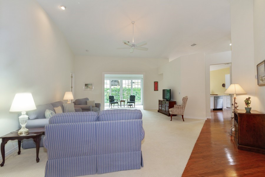 Real Estate Photography - 15389 Royal Fern Ln, Naples, FL, 34110 - Living Room