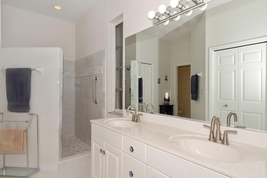 Real Estate Photography - 15389 Royal Fern Ln, Naples, FL, 34110 - Master Bathroom