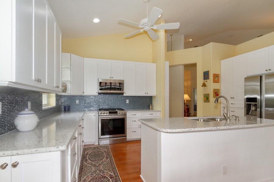 Real Estate Photography - 15389 Royal Fern Ln, Naples, FL, 34110 - Kitchen