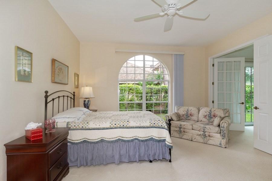 Real Estate Photography - 15389 Royal Fern Ln, Naples, FL, 34110 - Master Bedroom