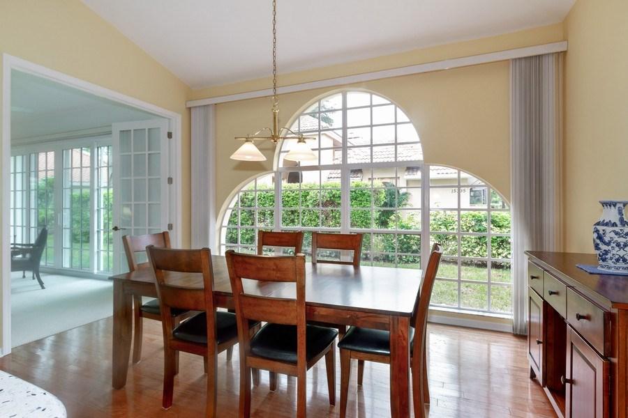 Real Estate Photography - 15389 Royal Fern Ln, Naples, FL, 34110 - Dining Room