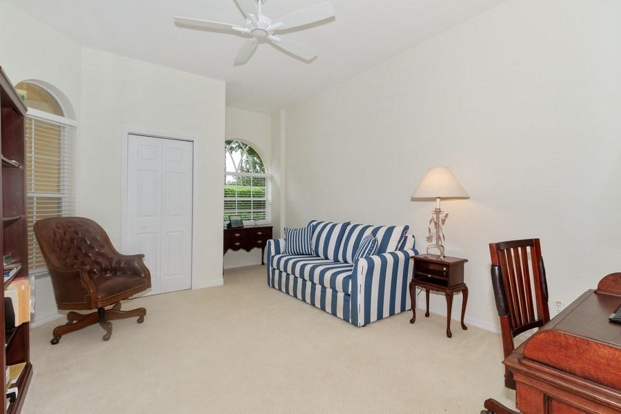 Real Estate Photography - 15389 Royal Fern Ln, Naples, FL, 34110 - Office