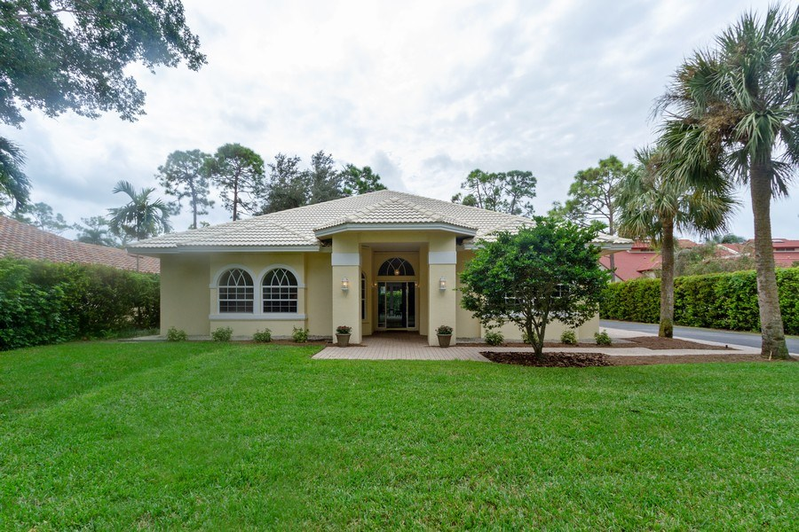 Real Estate Photography - 15389 Royal Fern Ln, Naples, FL, 34110 - Front View