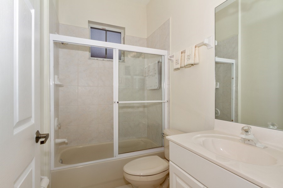 Real Estate Photography - 15389 Royal Fern Ln, Naples, FL, 34110 - Bathroom