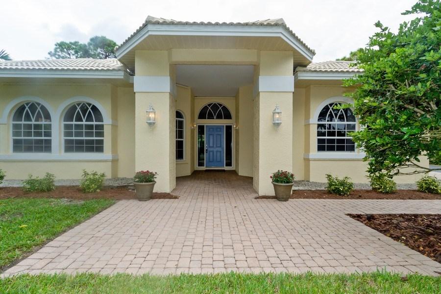 Real Estate Photography - 15389 Royal Fern Ln, Naples, FL, 34110 - Entryway
