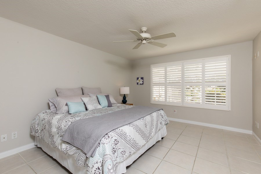 Real Estate Photography - 3612 Exuma Way, Naples, FL, 34119 - Master Bedroom