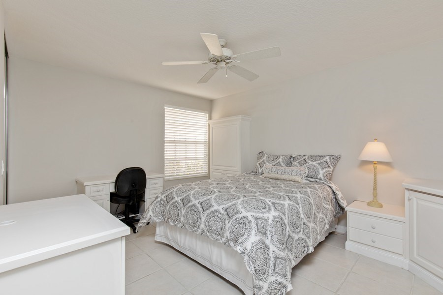 Real Estate Photography - 3612 Exuma Way, Naples, FL, 34119 - 2nd Bedroom