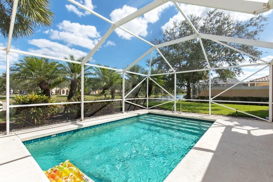 Real Estate Photography - 3612 Exuma Way, Naples, FL, 34119 - Pool
