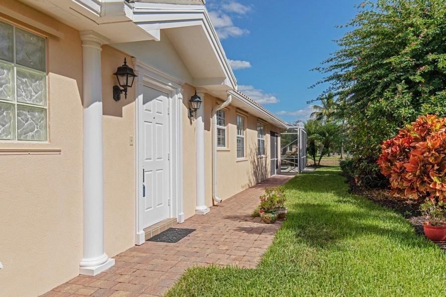 Real Estate Photography - 3612 Exuma Way, Naples, FL, 34119 - Entrance