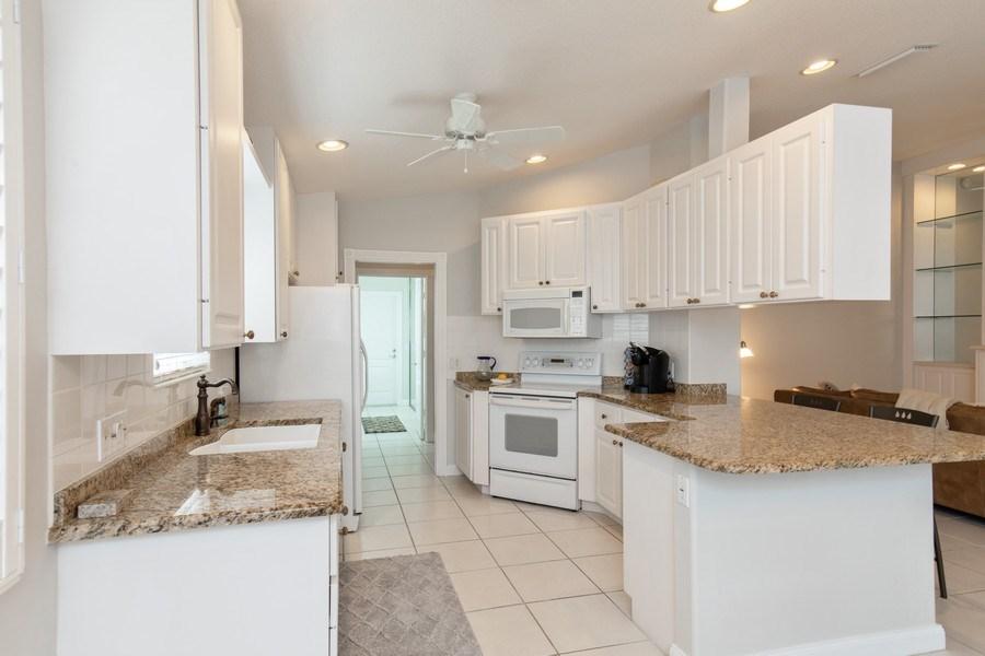 Real Estate Photography - 3612 Exuma Way, Naples, FL, 34119 - Kitchen