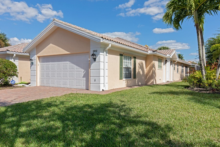 Real Estate Photography - 3612 Exuma Way, Naples, FL, 34119 - Front View