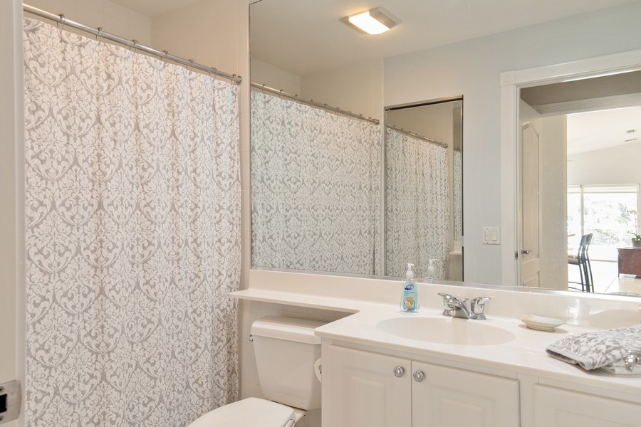 Real Estate Photography - 3612 Exuma Way, Naples, FL, 34119 - 2nd Bathroom