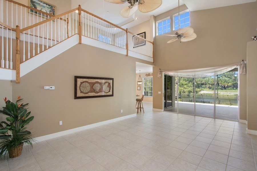 Real Estate Photography - 8904 Greenwich Hills Way, Fort Myers, FL, 33908 - Living Room