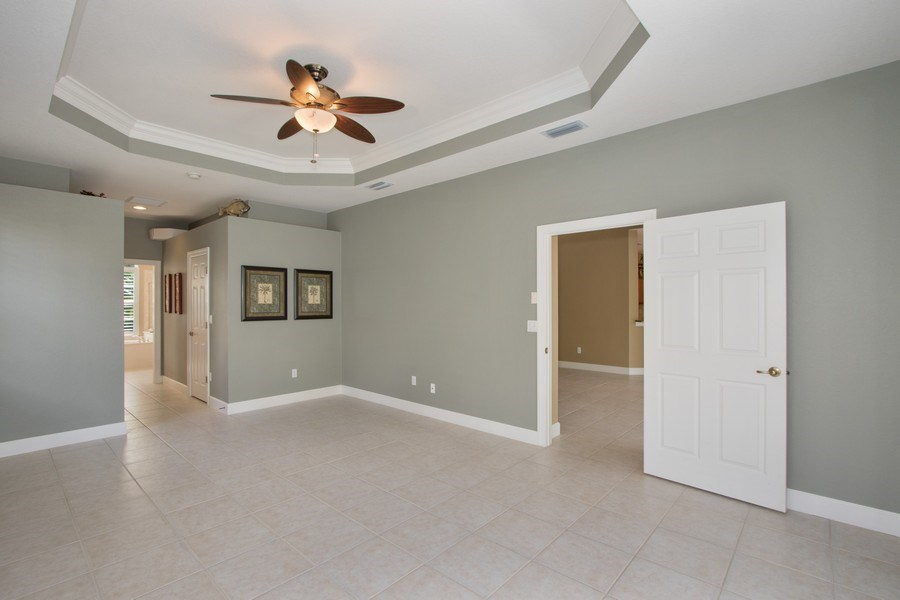 Real Estate Photography - 8904 Greenwich Hills Way, Fort Myers, FL, 33908 - Master Bedroom