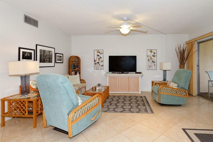 Real Estate Photography - 25740 Hickory Blvd, #D250, Bonita Springs, FL, 34134 - Living Room