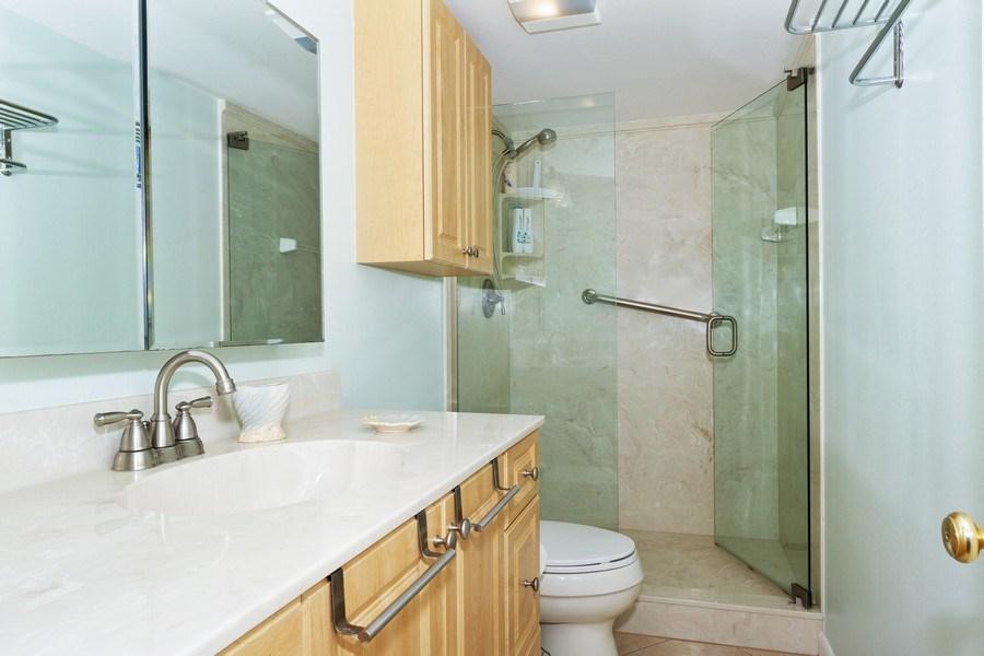 Real Estate Photography - 25740 Hickory Blvd, #D250, Bonita Springs, FL, 34134 - Master Bathroom