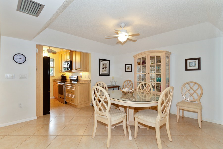 Real Estate Photography - 25740 Hickory Blvd, #D250, Bonita Springs, FL, 34134 - Dining Room