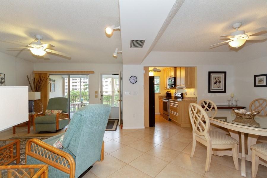 Real Estate Photography - 25740 Hickory Blvd, #D250, Bonita Springs, FL, 34134 - Living Room / Dining Room