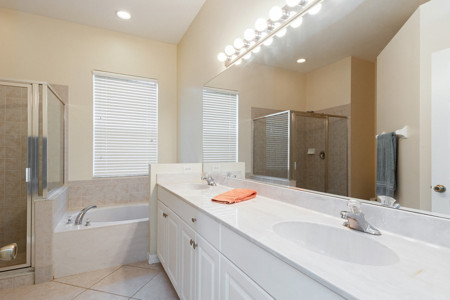 Real Estate Photography - 10650 LANDAU LN, Bonita Springs, FL, 34135 - Master Bathroom
