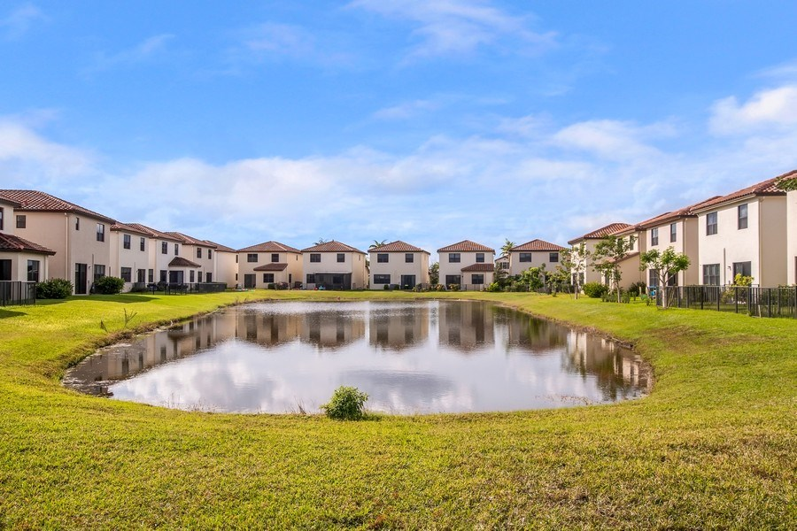 Real Estate Photography - 5455 Ferris Ave, Ave Maria, FL, 34142 - lake view