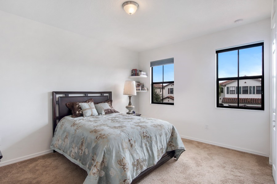 Real Estate Photography - 5455 Ferris Ave, Ave Maria, FL, 34142 - Guest Bedroom 1