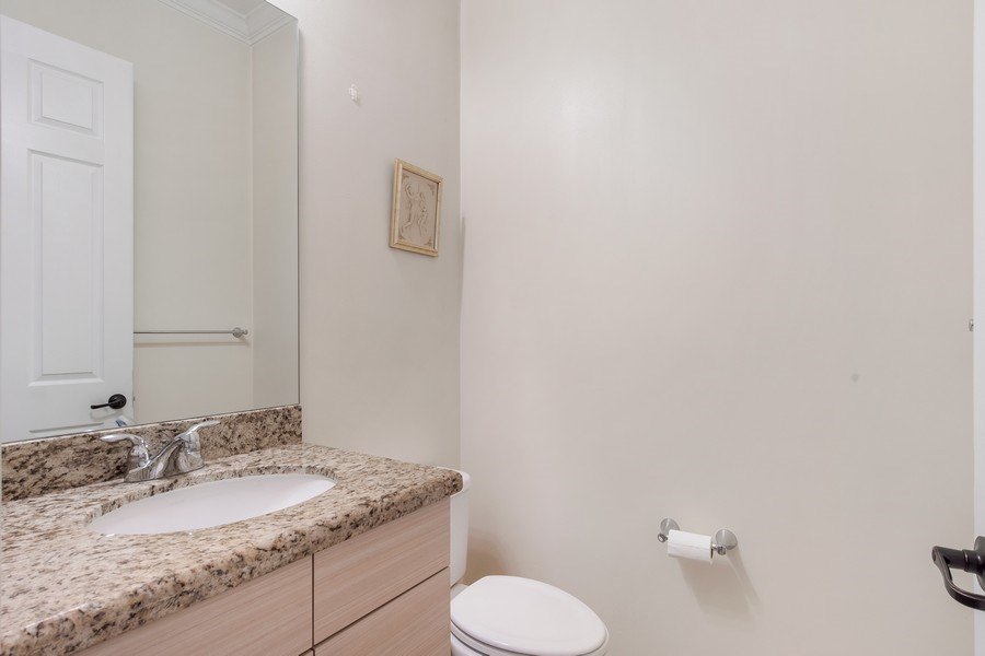 Real Estate Photography - 5455 Ferris Ave, Ave Maria, FL, 34142 - half-bath--( lower level)