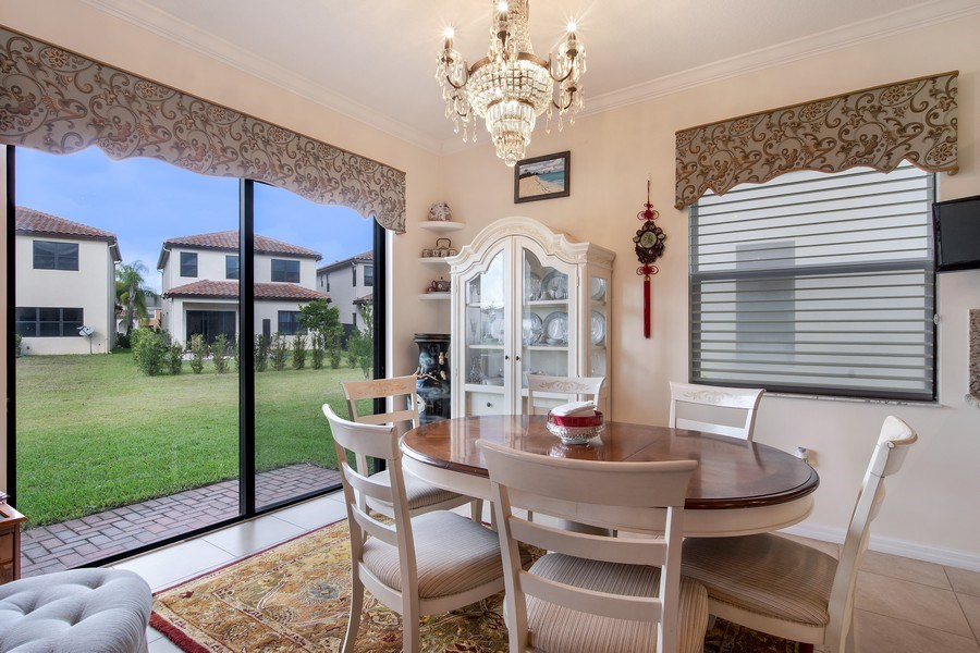 Real Estate Photography - 5455 Ferris Ave, Ave Maria, FL, 34142 - Dining Area