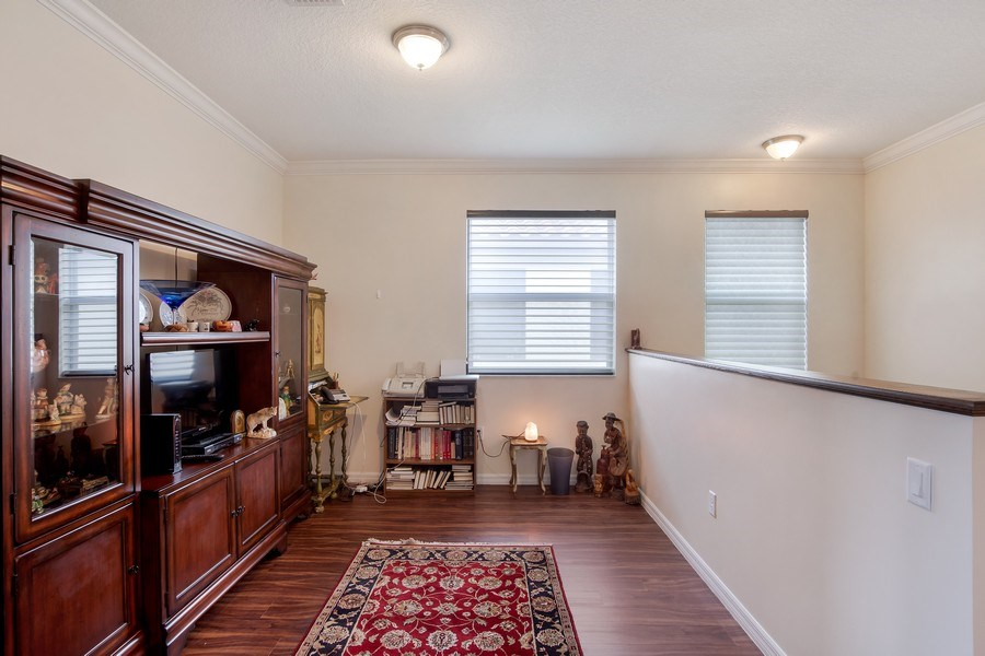 Real Estate Photography - 5455 Ferris Ave, Ave Maria, FL, 34142 - loft/den- upstairs