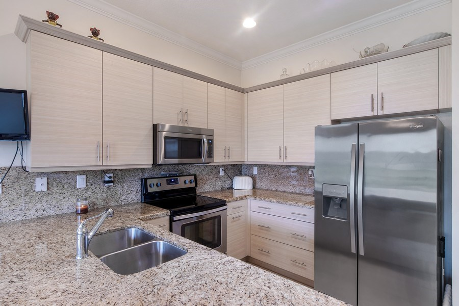 Real Estate Photography - 5455 Ferris Ave, Ave Maria, FL, 34142 - goumet kitchen