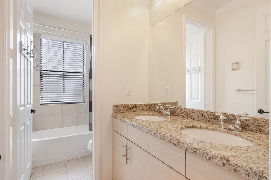 Real Estate Photography - 5455 Ferris Ave, Ave Maria, FL, 34142 - Guest Bath