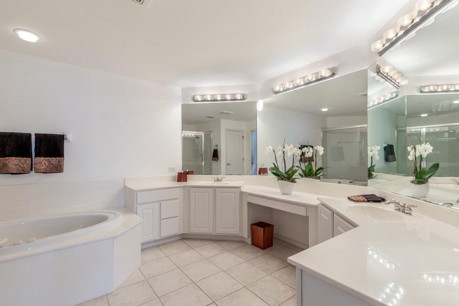 Real Estate Photography - 25071 BALLYCASTLE CT #203, Bonita Springs, FL, 34134 - Master Bathroom