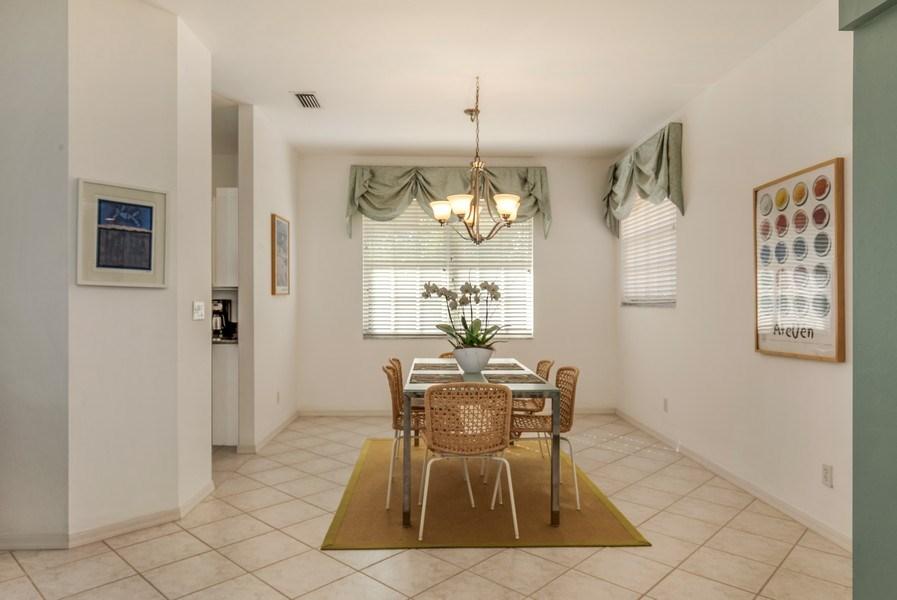 Real Estate Photography - 25071 BALLYCASTLE CT #203, Bonita Springs, FL, 34134 - Dining Room