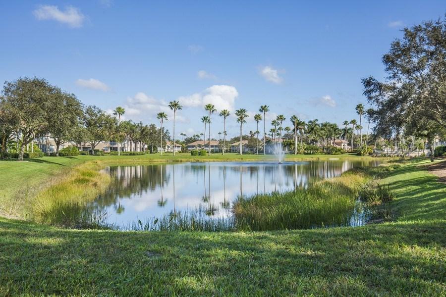 Real Estate Photography - 25071 BALLYCASTLE CT #203, Bonita Springs, FL, 34134 - Lake