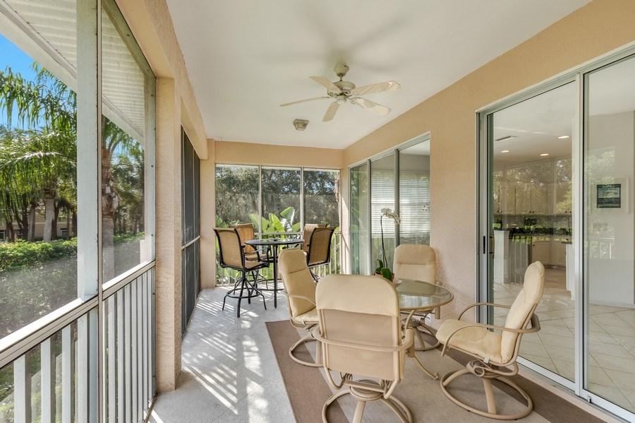 Real Estate Photography - 25071 BALLYCASTLE CT #203, Bonita Springs, FL, 34134 - Lanai