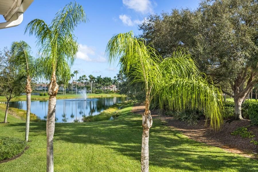 Real Estate Photography - 25071 BALLYCASTLE CT #203, Bonita Springs, FL, 34134 - Lake View