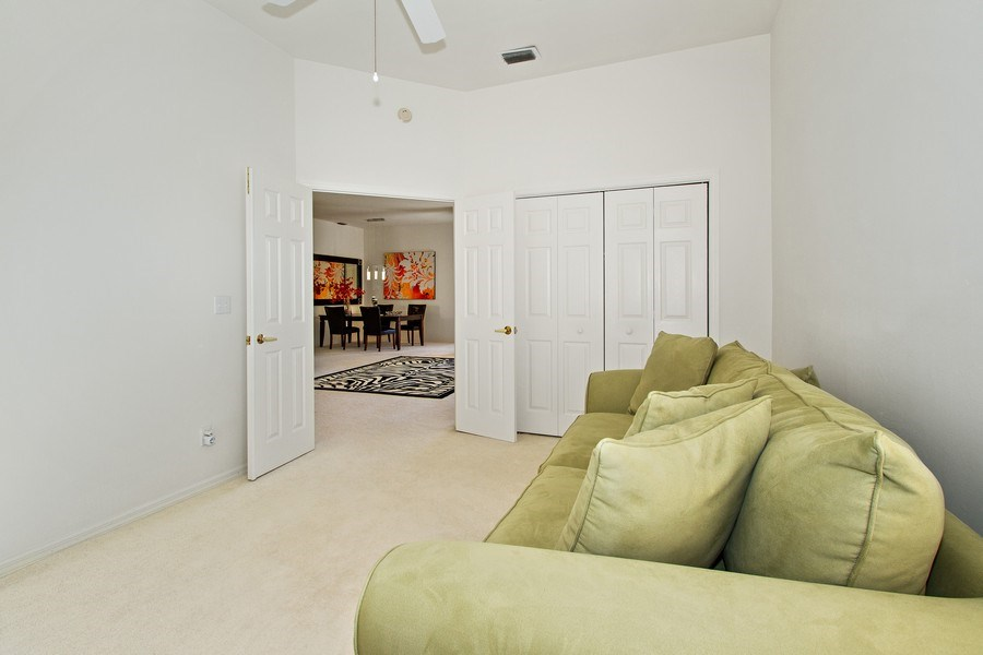 Real Estate Photography - 178 Vintage Cir, Unit 202, Naples, FL, 34119 - 2nd Bedroom