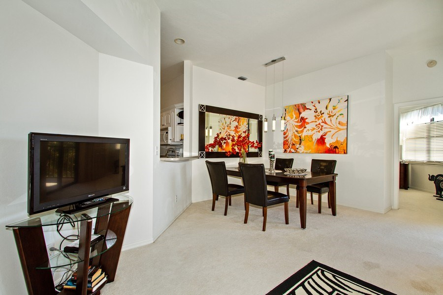 Real Estate Photography - 178 Vintage Cir, Unit 202, Naples, FL, 34119 - Dining Room