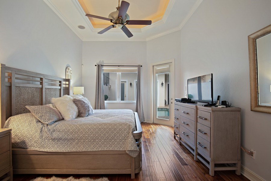 Real Estate Photography - 8894 Shenendoah Cir, Naples, FL, 34113 - Master Bedroom
