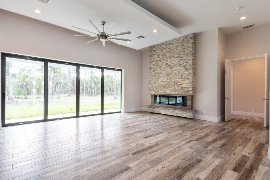 Real Estate Photography - 1160 14th Ave NE, Naples, FL, 34120 - Living Room