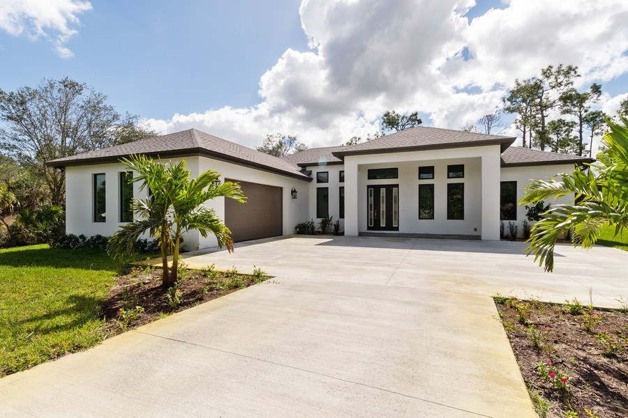 Real Estate Photography - 1160 14th Ave NE, Naples, FL, 34120 - Front View