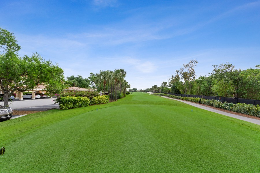 Real Estate Photography - 13060 Amberley Ct, Unit 804, Bonita Springs, FL, 34135 - Golf Course