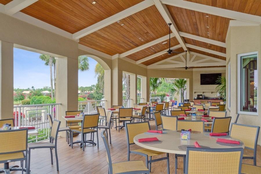 Real Estate Photography - 13060 Amberley Ct, Unit 804, Bonita Springs, FL, 34135 - Restaurant