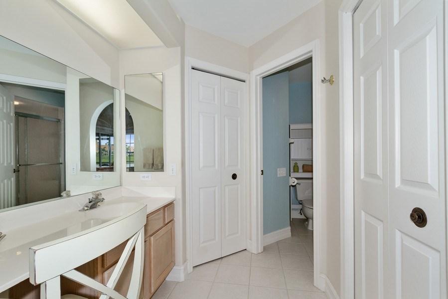 Real Estate Photography - 13060 Amberley Ct, Unit 804, Bonita Springs, FL, 34135 - Master Bathroom
