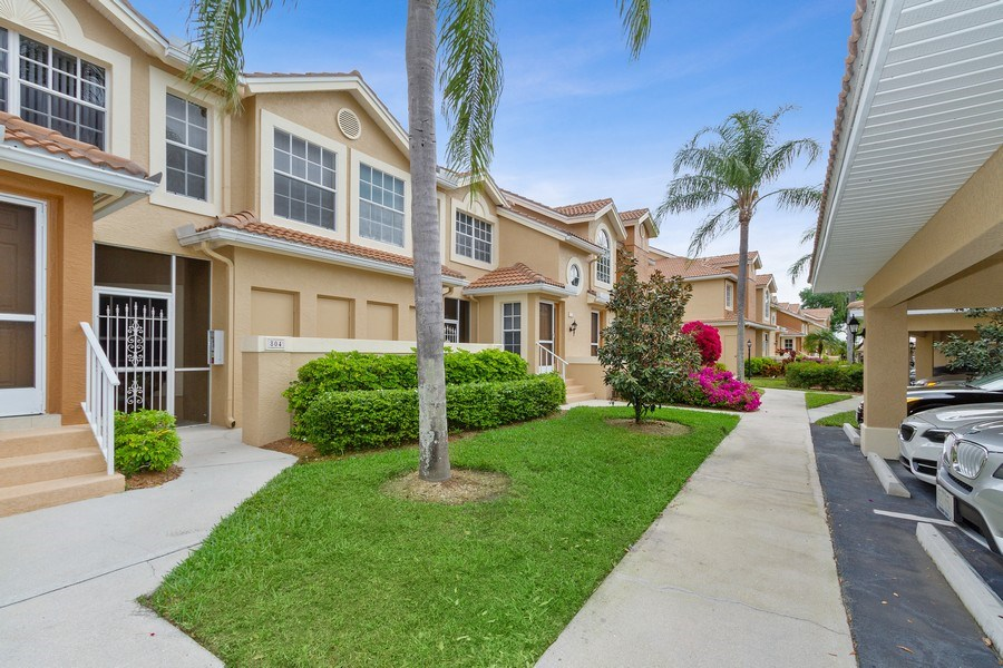 Real Estate Photography - 13060 Amberley Ct, Unit 804, Bonita Springs, FL, 34135 - Front View