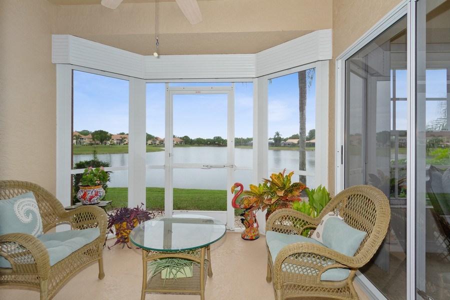 Real Estate Photography - 13060 Amberley Ct, Unit 804, Bonita Springs, FL, 34135 - Lanai