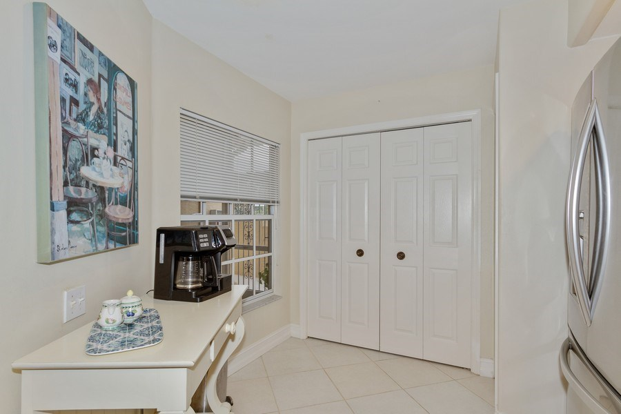 Real Estate Photography - 13060 Amberley Ct, Unit 804, Bonita Springs, FL, 34135 - Breakfast Nook