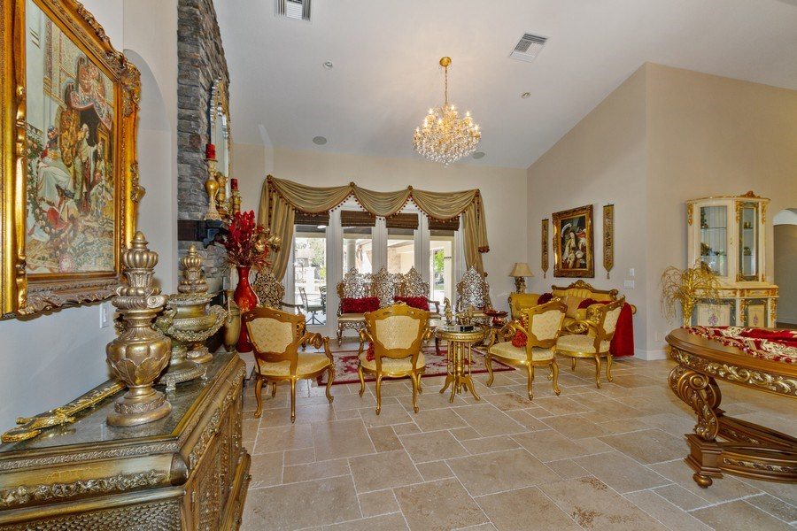 Real Estate Photography - 4381 3rd Ave Northwest, Naples, FL, 34119 - Living Room