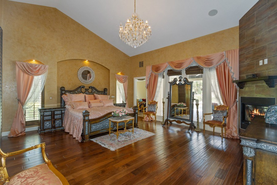 Real Estate Photography - 4381 3rd Ave Northwest, Naples, FL, 34119 - Master Bedroom