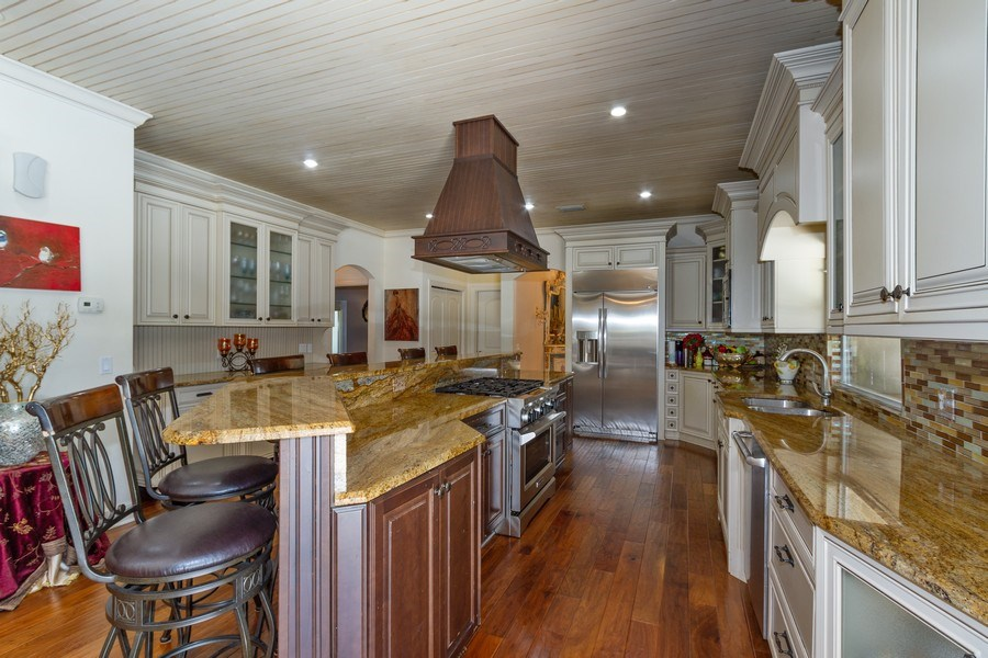 Real Estate Photography - 4381 3rd Ave Northwest, Naples, FL, 34119 - Kitchen