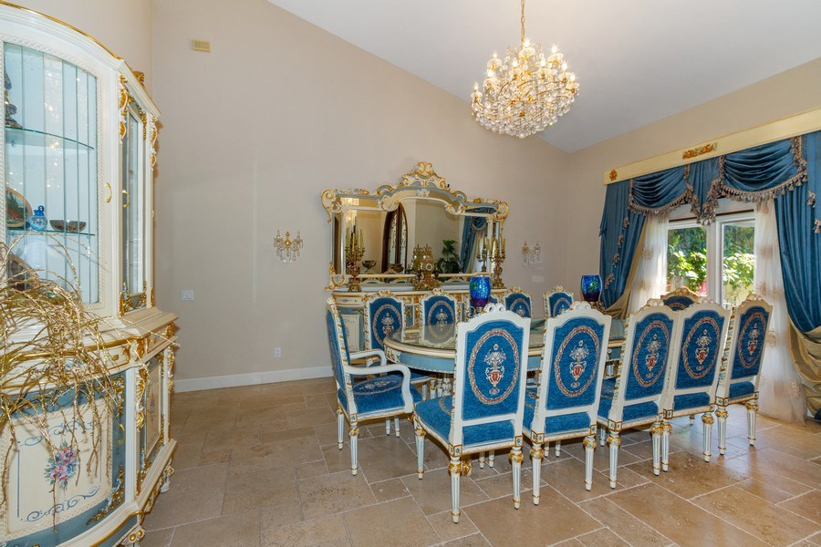 Real Estate Photography - 4381 3rd Ave Northwest, Naples, FL, 34119 - Dining Room